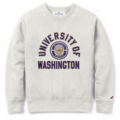 Washington Huskies League Stadium Crewneck Sweatshirt