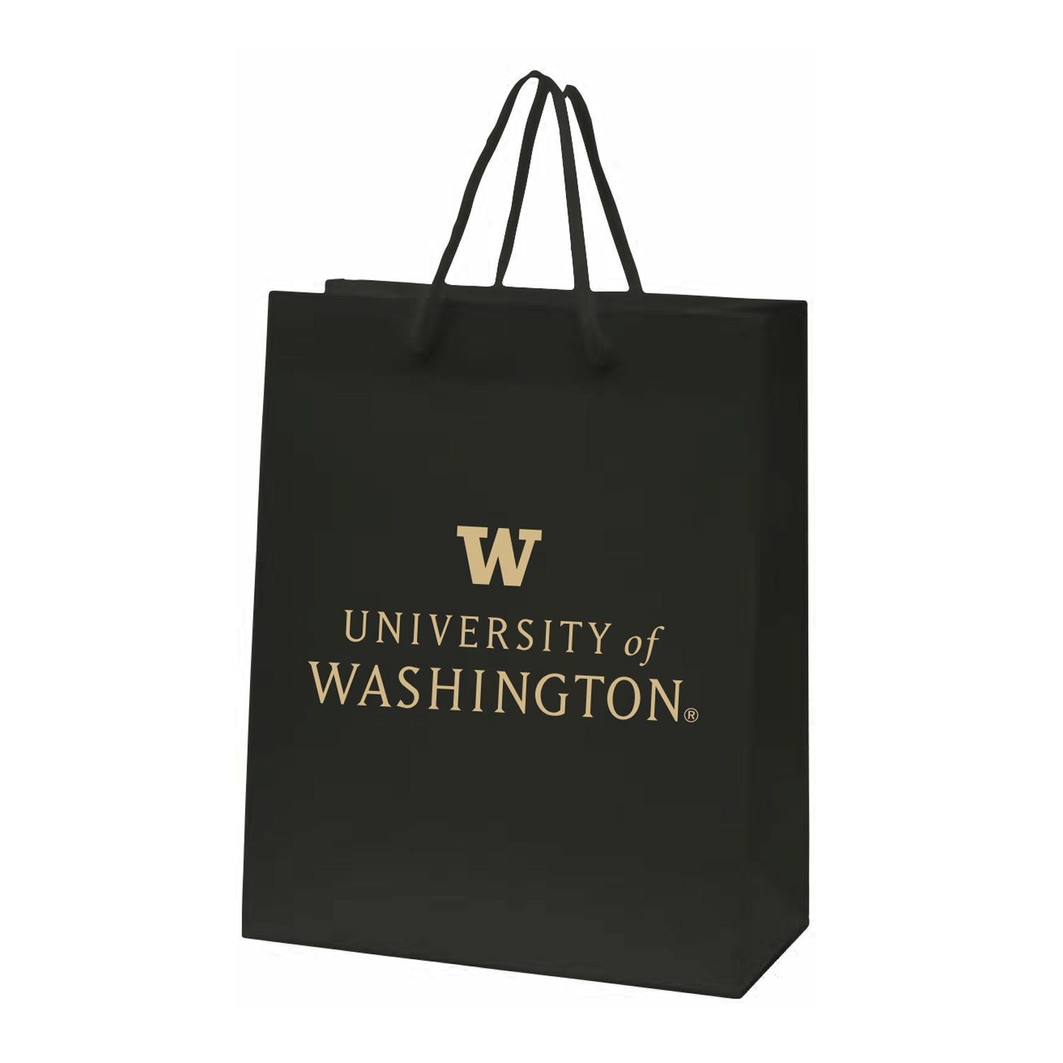 Washington Huskies Matte Gift Bag