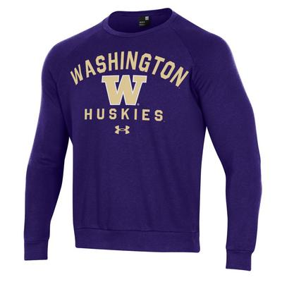 Washington Huskies Under Armour Men's All Day Crewneck