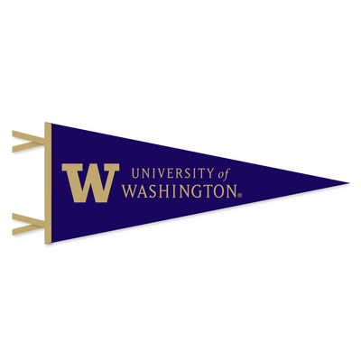 Washington Huskies 6 in. x 15 in. Pennant