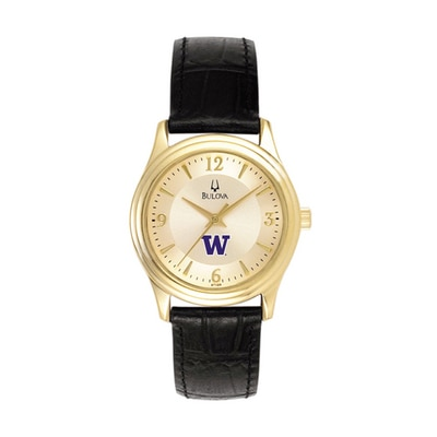 Washington Huskies Bulova Lady Watch