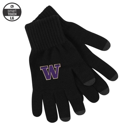 Washington Huskies LogoFit uText Smart Touch Glove