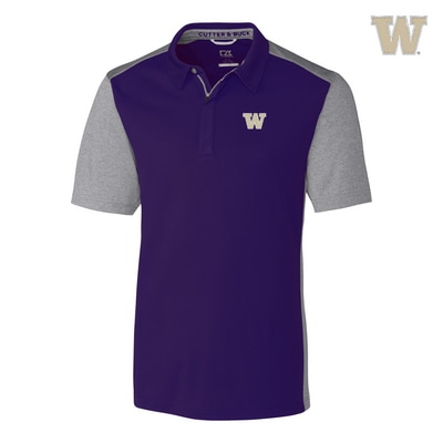 Washington Huskies Clark Hybrid Polo