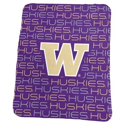 Washington Huskies Classic Fleece Blanket