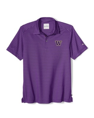 Washington Huskies Tommy Bahama Rico Polo
