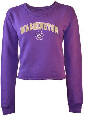 Washington Huskies Cassie Crop Sweatshirt