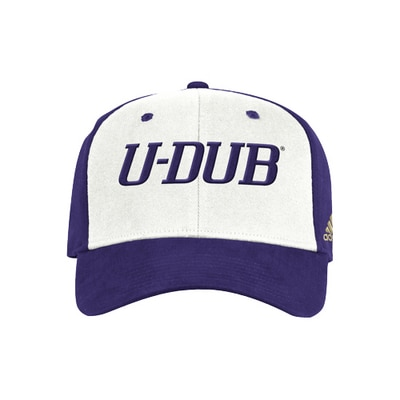 Washington Huskies Men's Structured Flex Cap