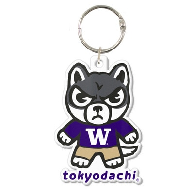 Washington Huskies Tokyodachi Key Tag
