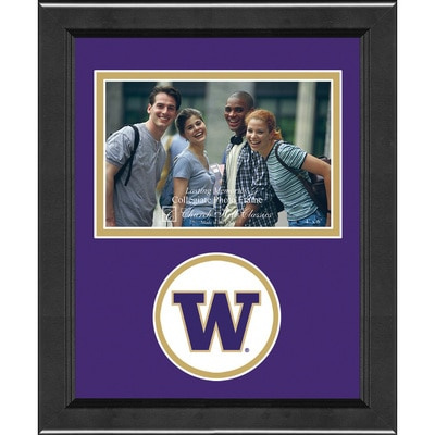 Washington Huskies Horizontal Logo Photo Frame