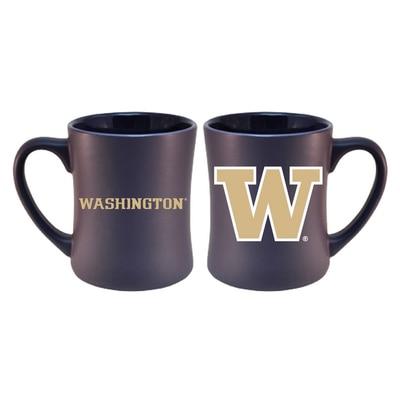 Washington Huskies Matte Diner Mug