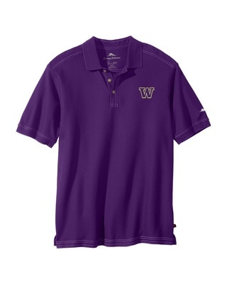 Washington Huskies THE EMFIELDER CORE POLO