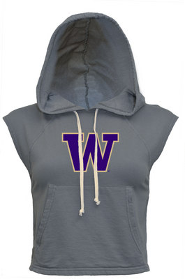 Washington Huskies Non Stop Crop Hood