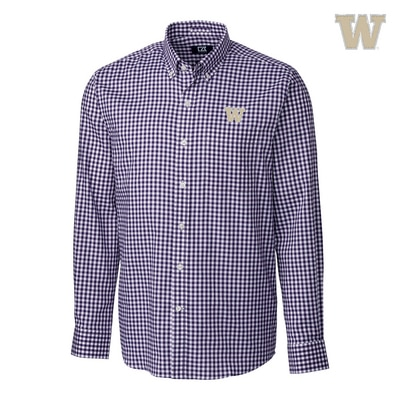 Washington Huskies League Gingham