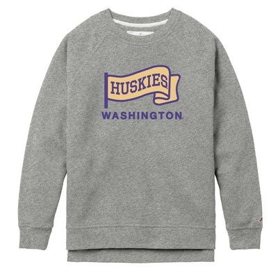 Washington Huskies League Academy Crewneck Sweatshirt