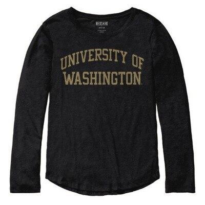 Washington Huskies Womens Long Sleeve T Shirt