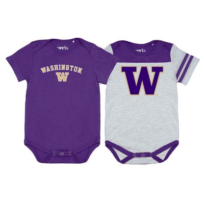 Washington Huskies Garb Tommy 2 Pack Onesie Set