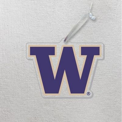Washington Huskies Clear Acrylic Ornamnet