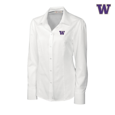 Washington Huskies Long Sleeve Epic EasyCare Nailshead