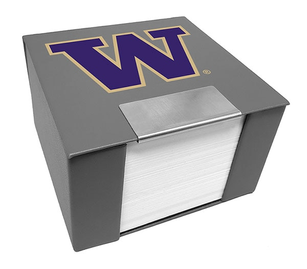 Washington Huskies Memo Cube w/Notes