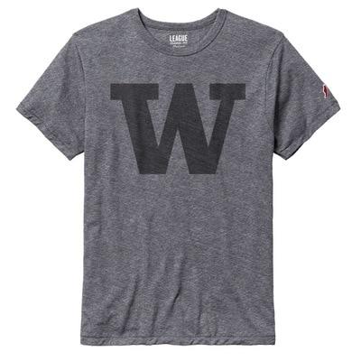 Washington Huskies League Victory Falls Triblend Short Sleeve T-Shirt