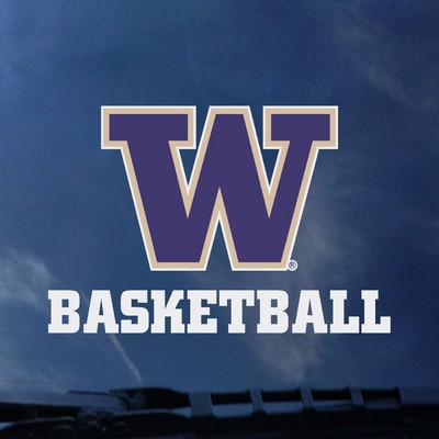 Washington Huskies Color Shock Auto Decal