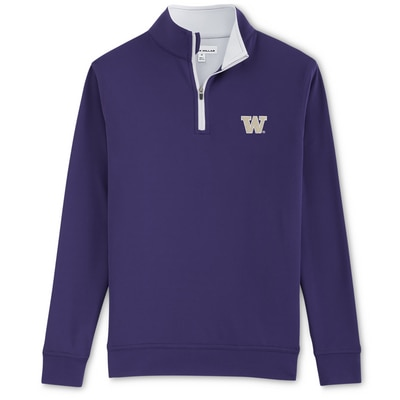Washington Huskies PERTH STRETCH 1/4 ZIP