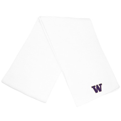 Washington Huskies LogoFit Frosty Basic Knit Winter Scarf