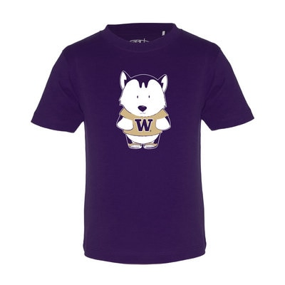 Washington Huskies Garb Toddler Short Sleeve T-Shirt