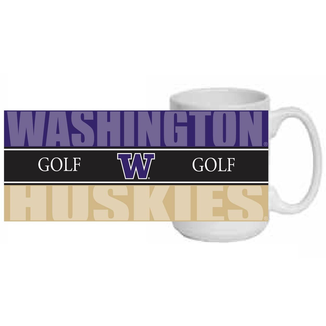 Washington Huskies 15oz Coffee Mug
