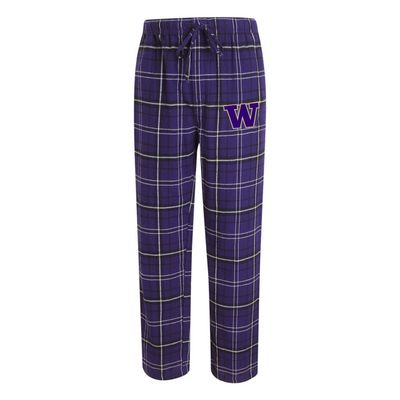 Washington Huskies College Concepts Mens Ultimate Flannel Pant