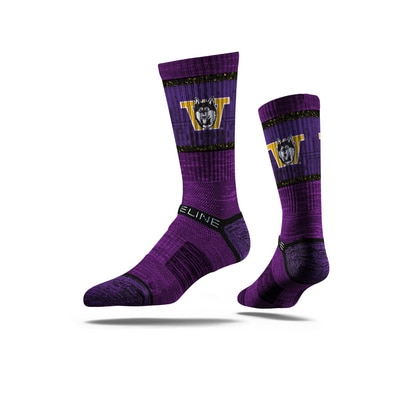 Washington Huskies Strideline Premium Crew Socks