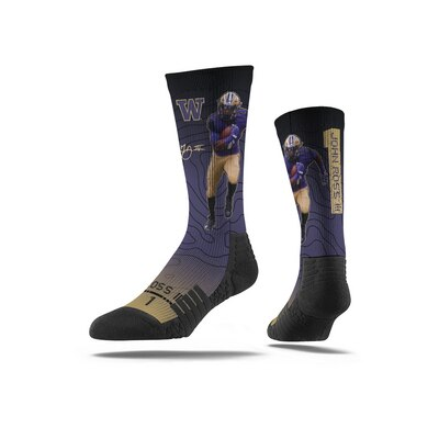 Washington Huskies Strideline Premium NFL Full Sublimation Socks