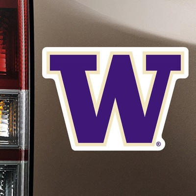 Washington Huskies Car Magnet