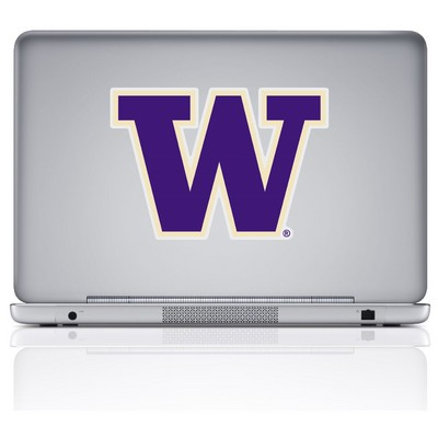 Washington Huskies Color Shock Reusable Decal