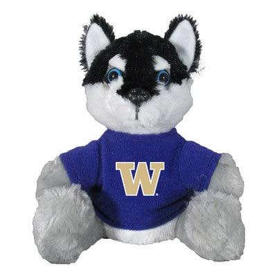 Washington Huskies 6in Custom Plush Mascot