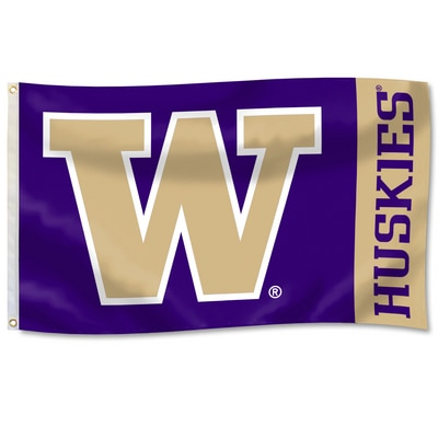 Washington Huskies Durawave Flag