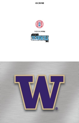 Washington Huskies Note Card Packs with 10 Cards and Envelopes