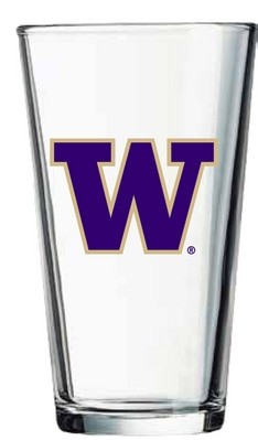 Washington Huskies 16oz Pint Glass