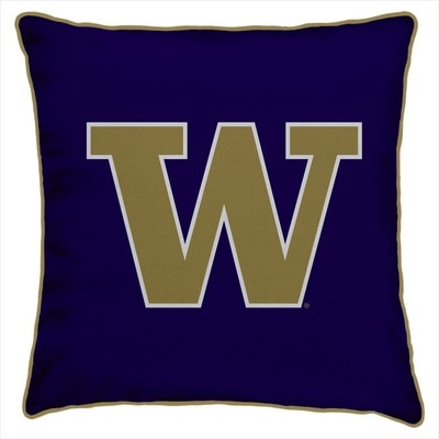 Washington Huskies 14x14 Spirit Pillow