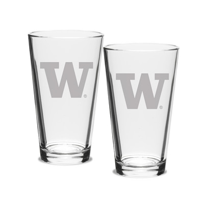 Washington Huskies Pint Glass