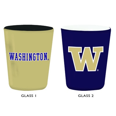 Washington Huskies 2oz Ceramic Shot Glass