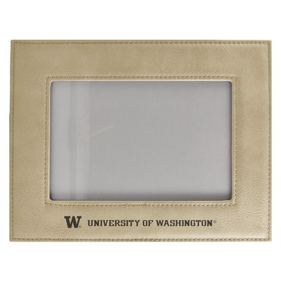 "Washington Huskies 4"" X 6"" Velour Colored Picture Frame"