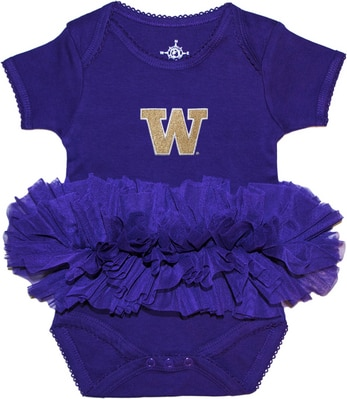 Washington Huskies Creative Knitwear TuTu Onesie