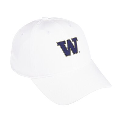Washington Huskies Adidas Men's Coach Adjustable Slouch
