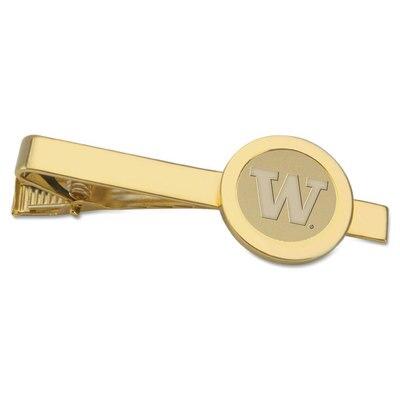 Washington Huskies Gold Tie Bar