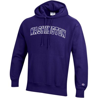 Washington Huskies Champion Reverse Weave Pullover Hoodie