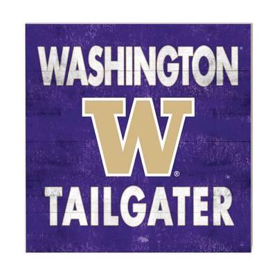 Washington Huskies Team Color Tailgater Sign