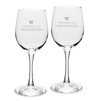 Washington Huskies 2pk White Wine