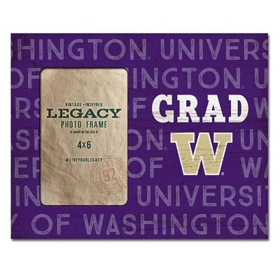 Washington Huskies Frame 4x6