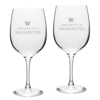 Washington Huskies 2pk Red Wine